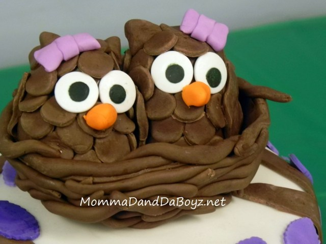 Owl Birthday Cakes Owl Birthday Cake Momma D And Da Boyz