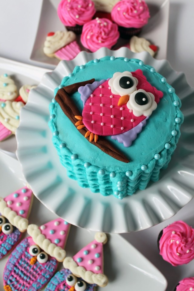Owl Birthday Cakes Worth Pinning Owl Smash Cake For 1st Birthday