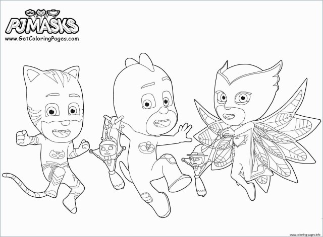 Owlette Coloring Page Coloring Pages For Kids Owlette With Pj Masks Coloring Book Fabulous