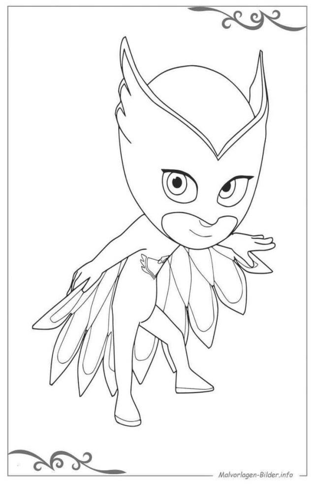 Owlette Coloring Page Owlette Coloring Page Lovely 40 Pj Masks Ausmalbilder Kostenlos