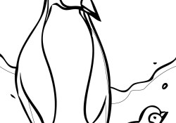Penguin Coloring Page Free Cartoon Penguin Coloring Pages Download Free Clip Art Free