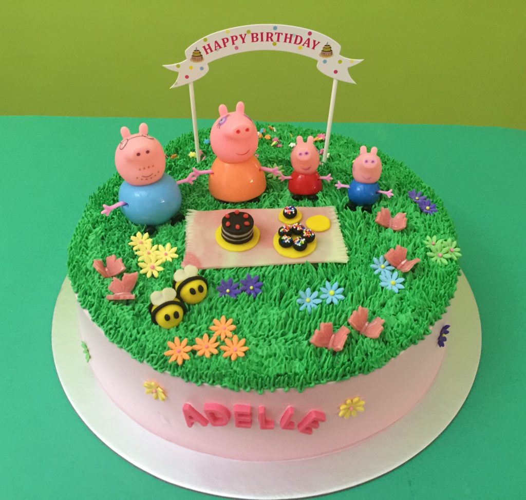 Peppa Pig Birthday Cake Peppa Pig Cakes Singapore You Favorite Character On Cake