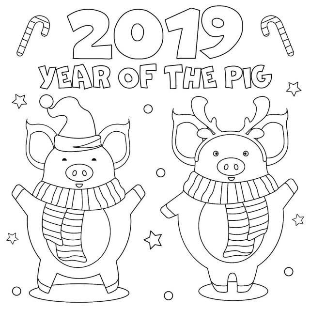 Print Coloring Pages New Year January Coloring Pages Printable Fun To Help Kids