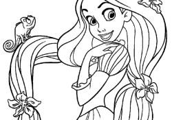 Rapunzel Coloring Pages Free Printable Tangled Coloring Pages For Kids Cool2bkids
