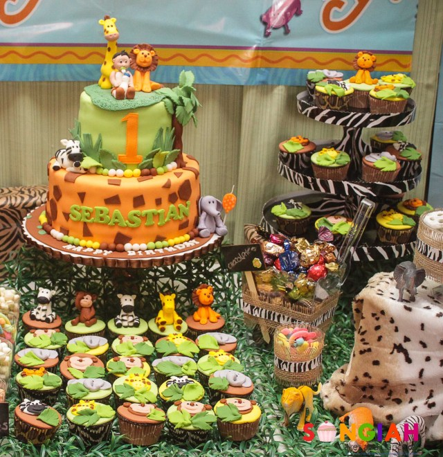Safari Birthday Cake Songiah Sebastians Safari Birthday Cake