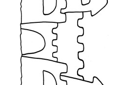 Sand Castle Coloring Page High Resolution Coloring Sand 3 Sand Castle Coloring Pages