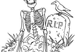 Scary Halloween Coloring Pages Free Printable Halloween Coloring Pages For Kids