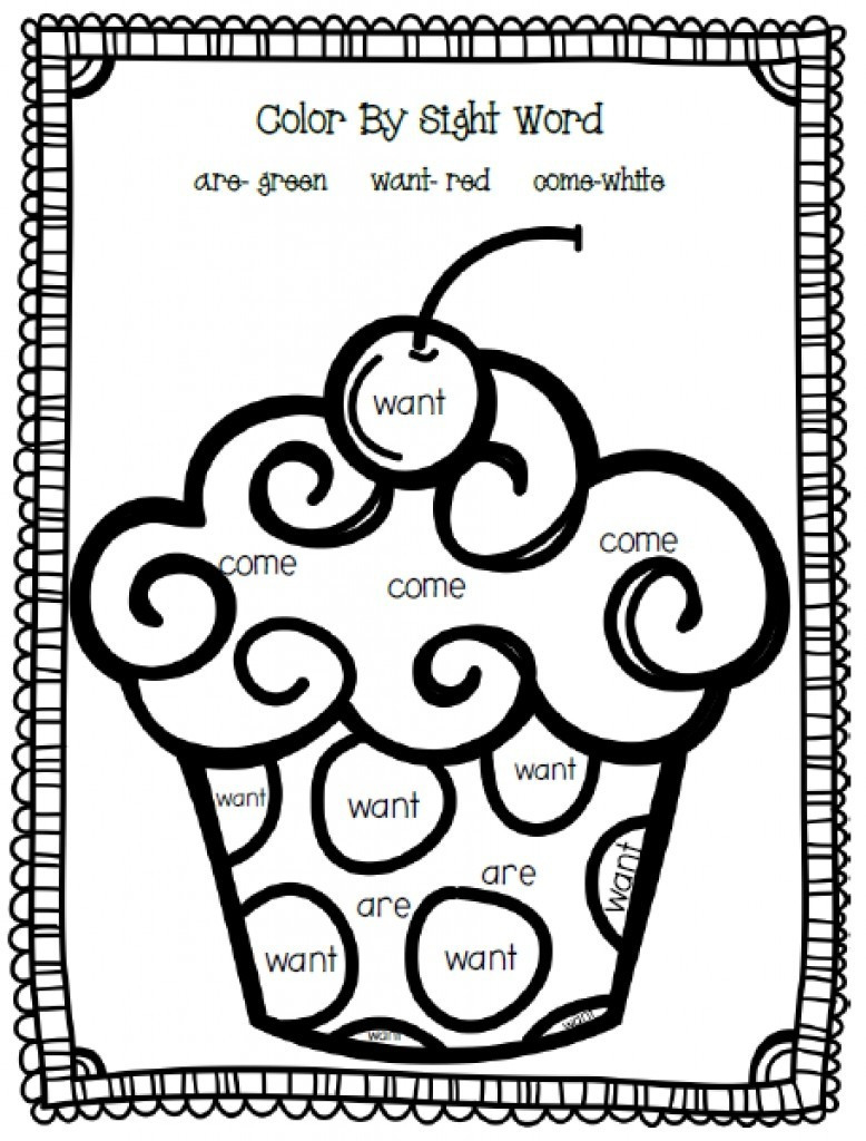 25+ Inspired Photo of Sight Word Coloring Pages