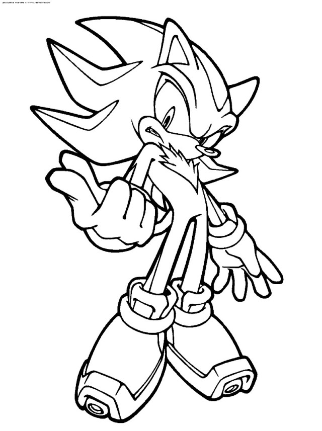 27+ Inspiration Image of Sonic Coloring Page ...