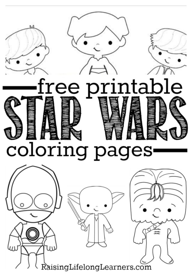 Star Wars Color Pages Free Printable Star Wars Coloring Pages For Star Wars Fans Of All Ages