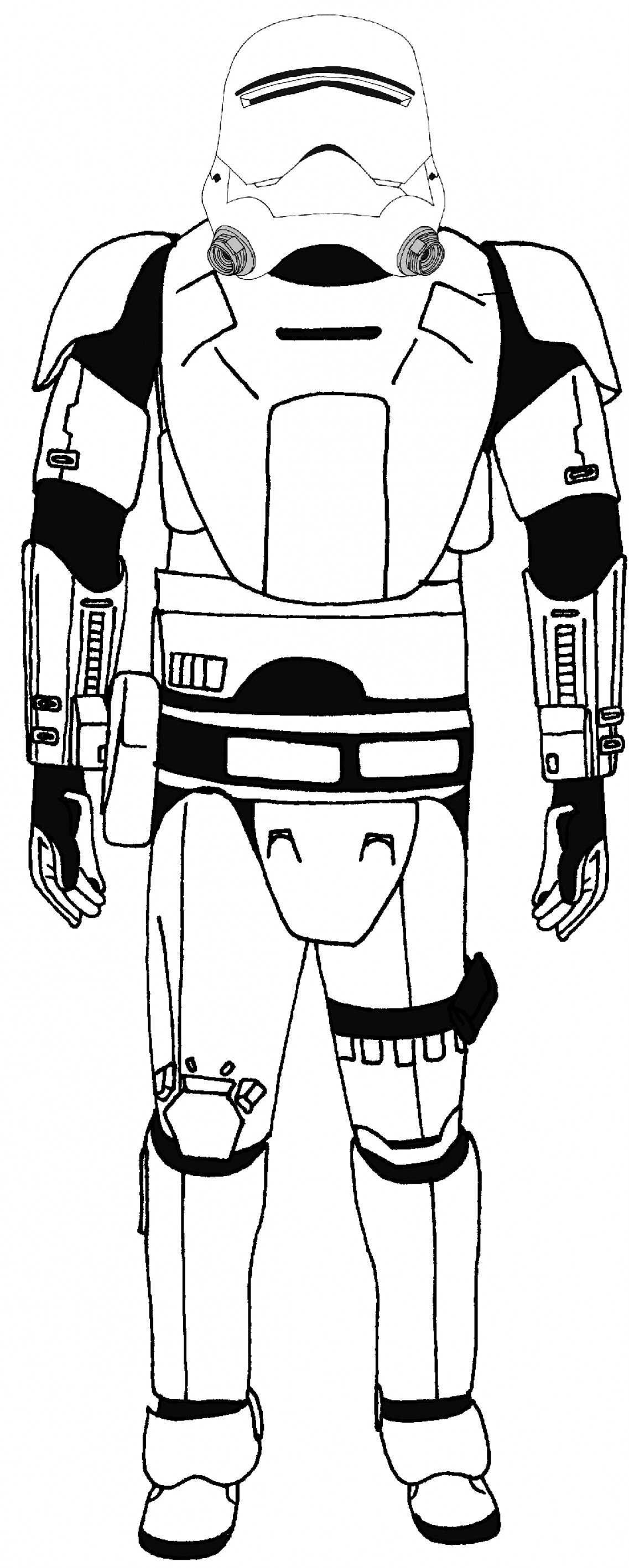 Stormtrooper Coloring Page Great Stormtrooper Coloring