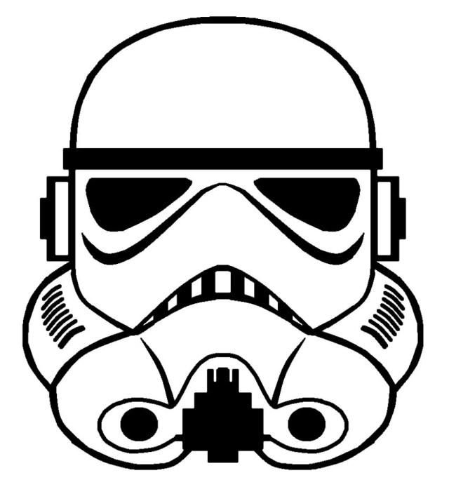 Stormtrooper Coloring Page Star Wars Stormtrooper Helmet Drawing At Getdrawings Free For