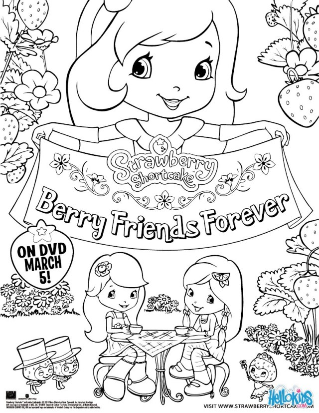 Strawberry Shortcake Coloring Pages Strawberry Shortcake Coloring Pages 30 Online Toy Dolls Printables