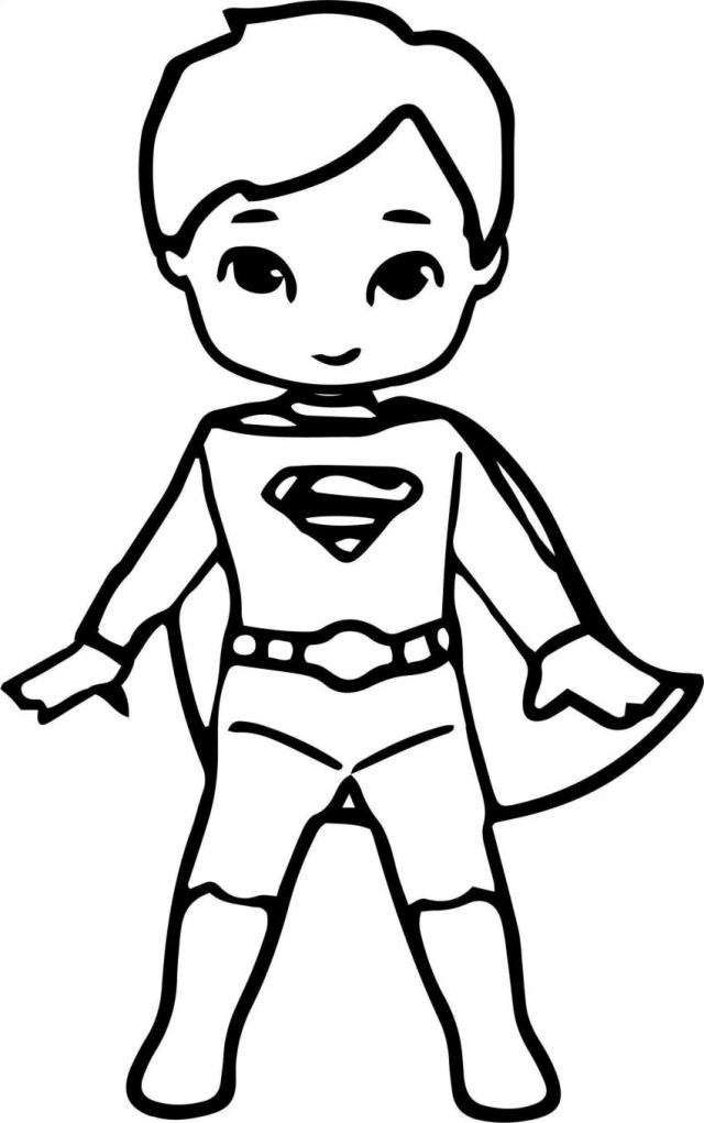 Superman Coloring Page Fantastic Superman Coloring Pages For Kids Image Inspirations