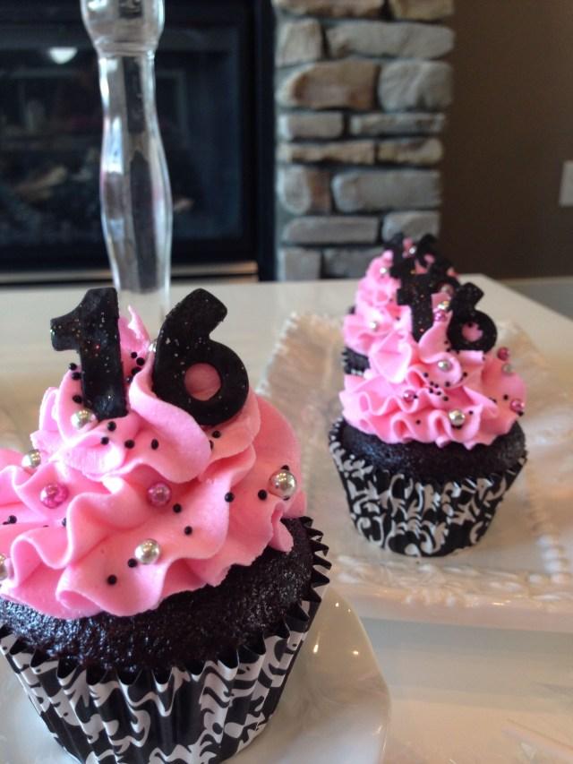 Sweet 16 Birthday Cake Ideas Sweet 16 Cupcakes Sweet Sixteen Ideas In 2019