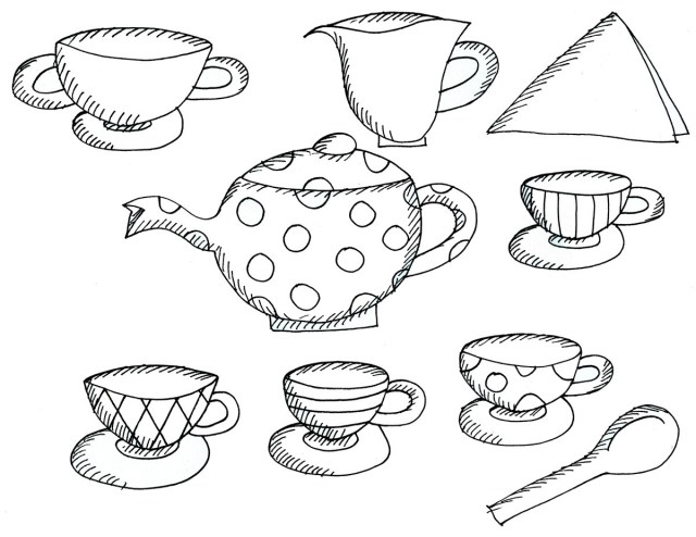 Teapot Coloring Page Teapot And Cup Coloring Page New I Am A Little Teapot Coloring Pages
