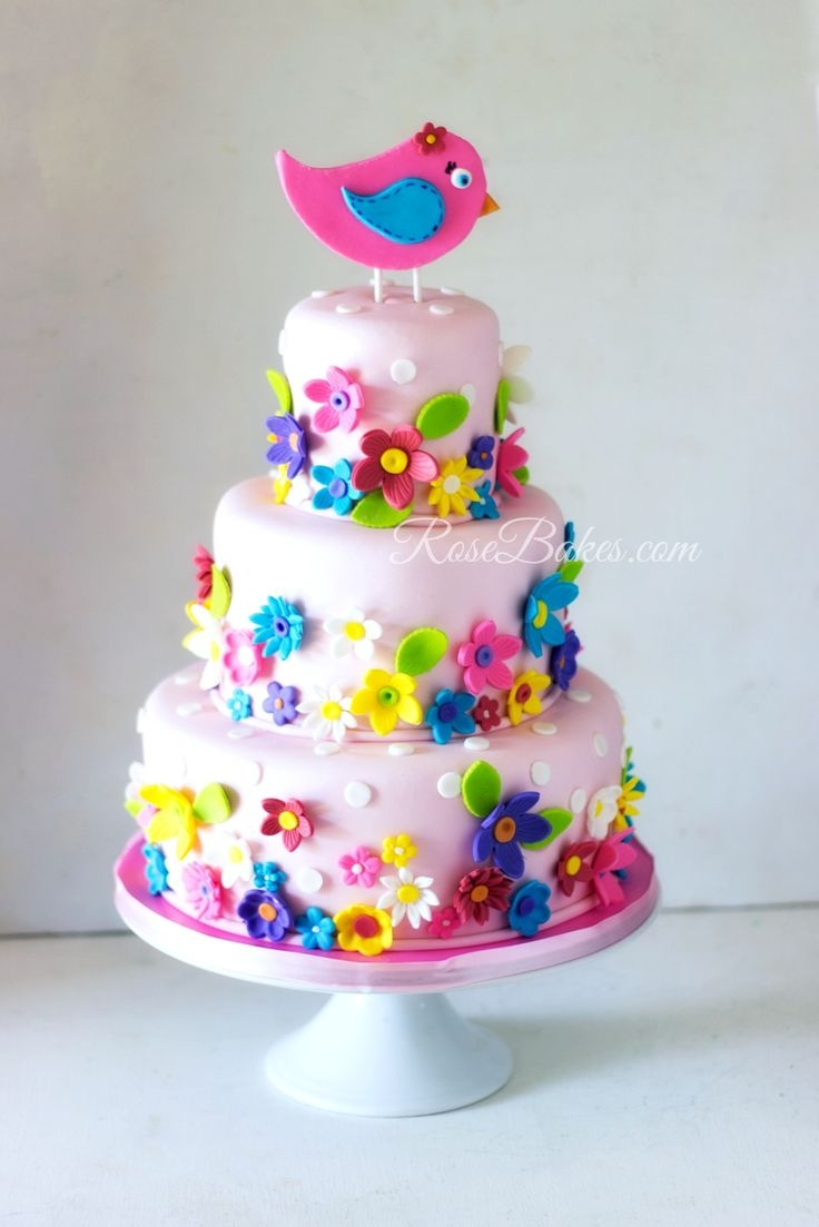Toddler Girl Birthday Cakes 240 Best 1st Images On Pinterest With