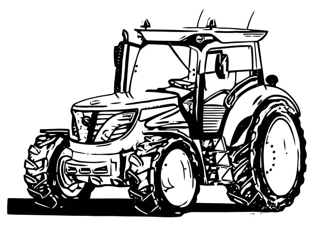 Tractor Coloring Pages John Johnny Deere Tractor Coloring Page Wecoloringpage 51