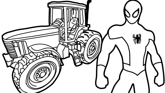 Tractor Coloring Pages Simple Tractor Coloring Pages At Getdrawings Free For Personal
