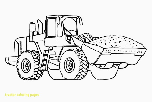 Tractor Coloring Pages Tractor Color Page Pages 58 With Thejourneyvisvi Within Coloring