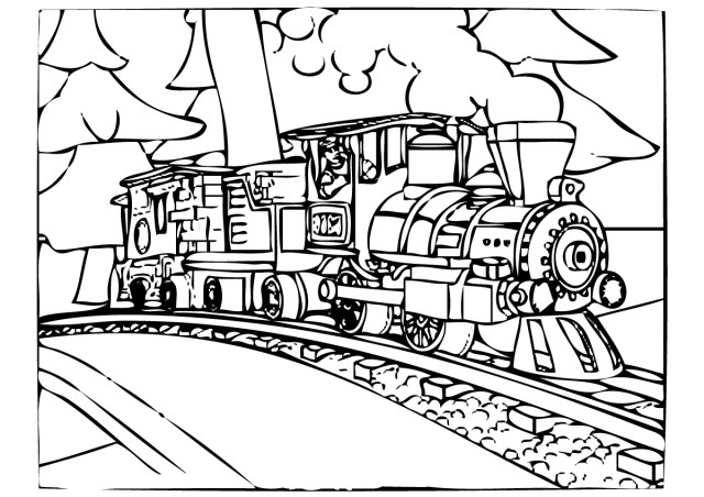 Train Coloring Page Polar Express Coloring Pages Best Coloring Pages For Kids