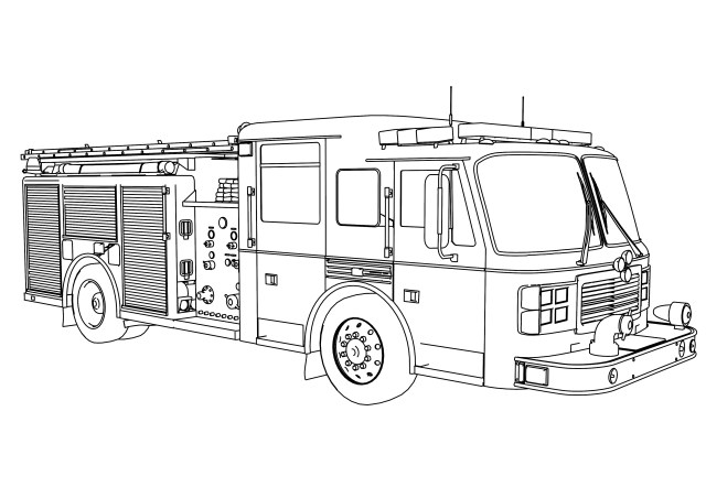 Truck Coloring Pages Fire Truck Coloring Page Fire Truck Coloring Pages Wecoloringpage