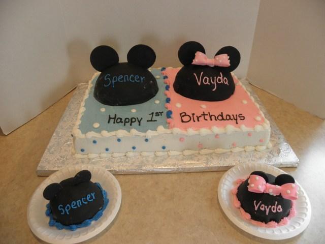 Twin Birthday Cakes Birthday Cakes For Twins With Regard To Birthday Cake Ideas Twins