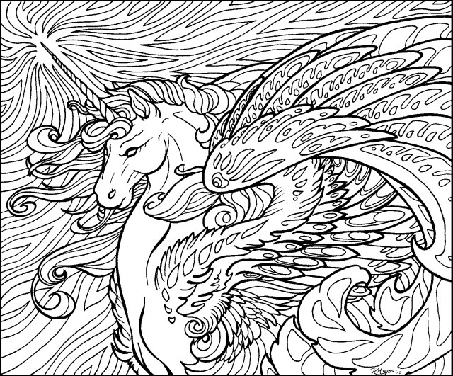 Unicorn Coloring Pages For Adults Coloring Page Free Unicorn Coloring Pages Family Brainstormchi Com