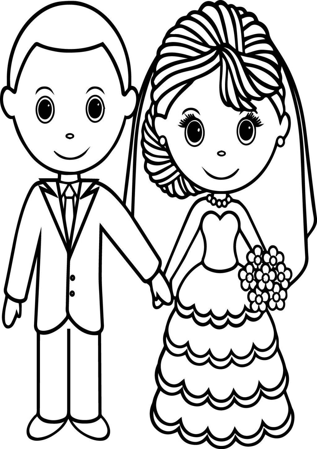 21+ Exclusive Photo of Wedding Coloring Pages ...