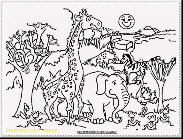 Zoo Animals Coloring Pages Perfect Zoo Animal Coloring Sheets Animals Sheet Page 12