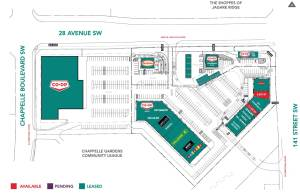Entity Developments Chappelle Commons overview map
