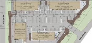 Entity Developments Ewing Plaza Site Plan