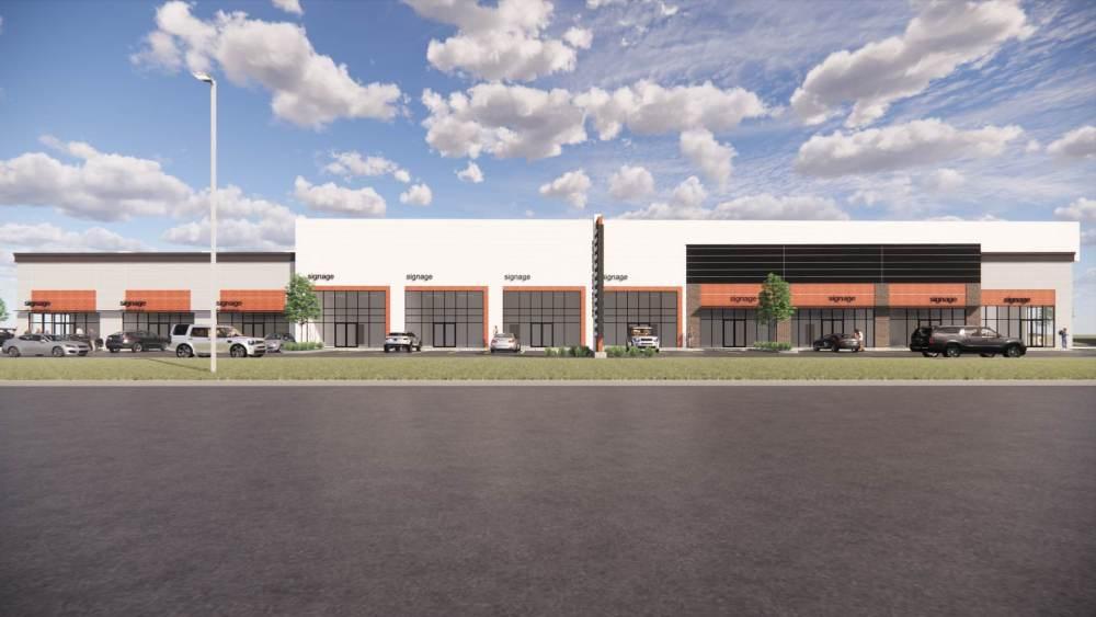 Entity Developments Gateway Blvd Center Renders Building 3