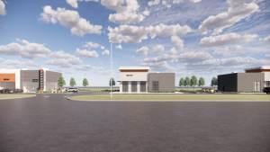 Entity Developments Gateway Blvd Center Renders Building 5