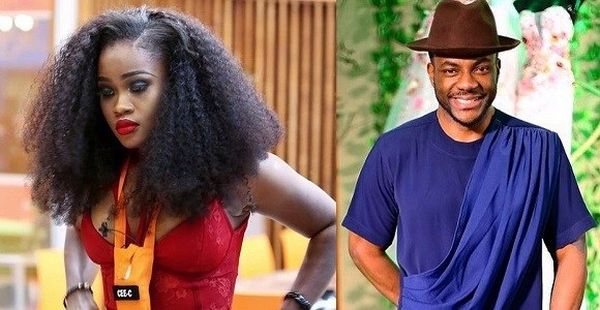 [BBNaija] : Idiots! – Ebuka Reacts to claims of Cee-C being his Ex-girlfriend