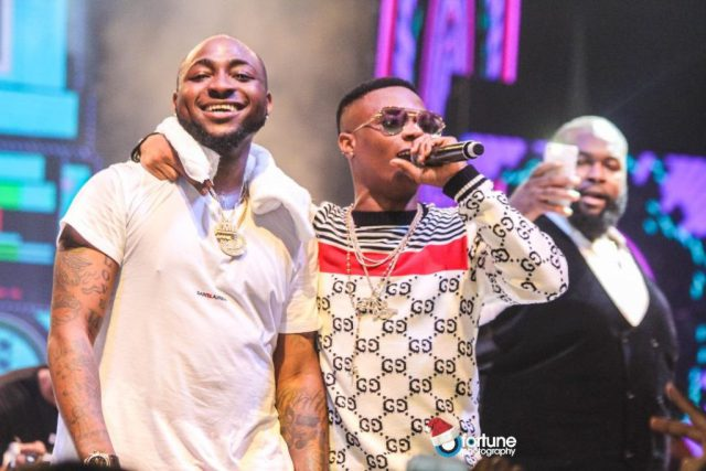 Davido explains why he has no song with Wizkid and why DMW has no female artist