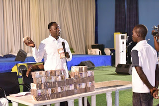 Prophet gift out 40MILLION NAIRA to his church members