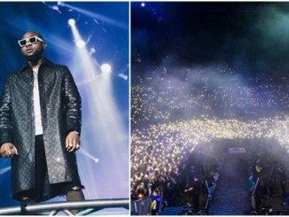 Davido shows evidence that his concert at 02 Arena London was sold out