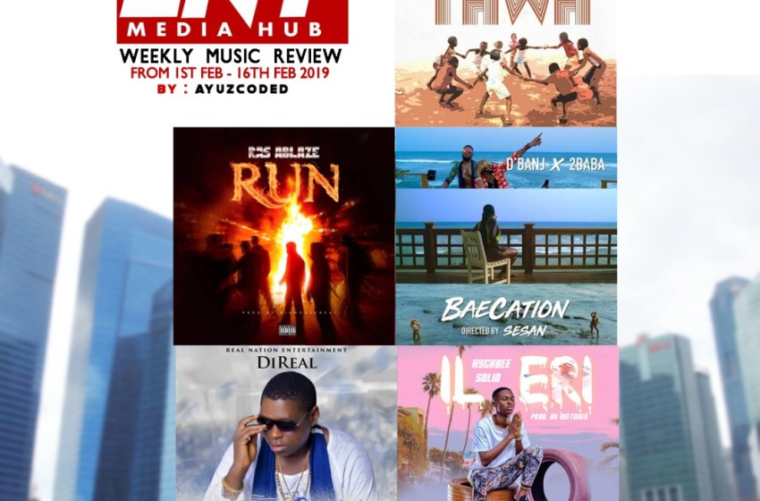 EntMediaHub Music Review For 1st Feb. – 16th Feb. by Ayuzcoded