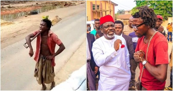 Story of popular mentally disabled man in Imo State