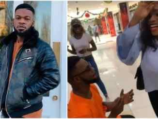 Broda Shaggy apologizes to boyfriend of the lady he proposed to