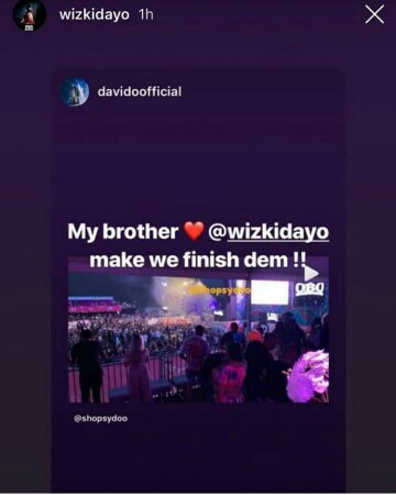 Wizkid and Davido about to collaborate