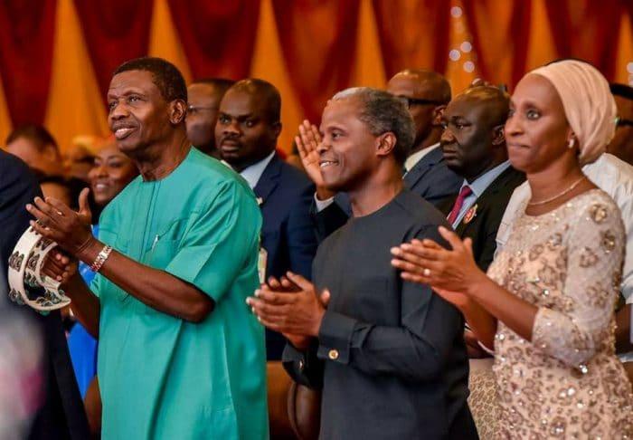 How God showed me Osinbajo's helicopter crash before it happened – Adeboye