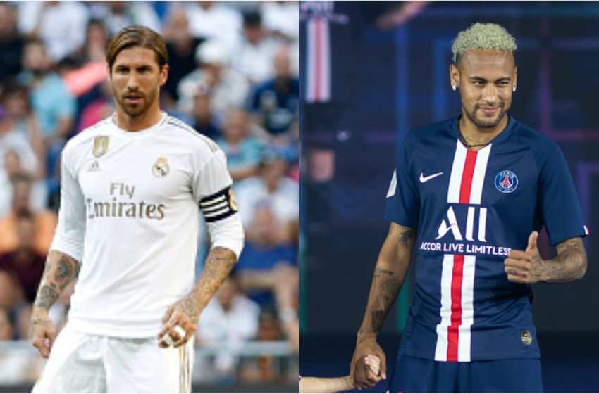 Ramos speaks on Neymar's speculative move from PSG