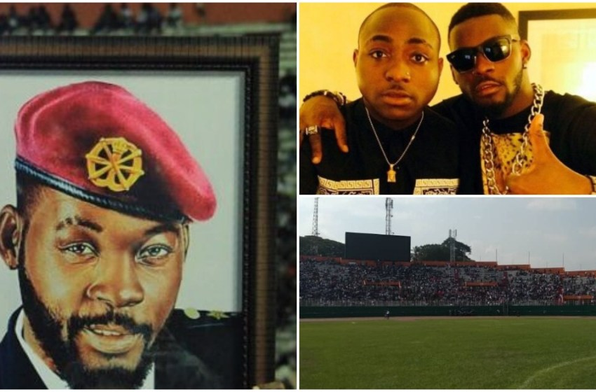 DJ Arafat's burial – Davido performed [PHOTOS+VIDEOS]