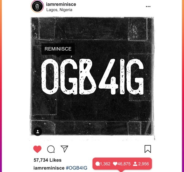DOWNLOAD : Reminisce – OG b4 IG [MP3]