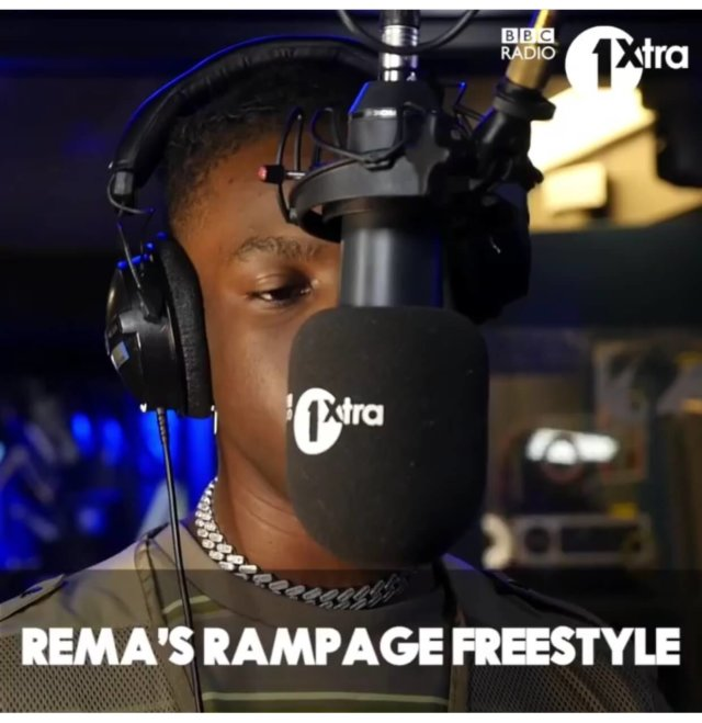 DOWNLOAD : Rema – Rampage[MP3]