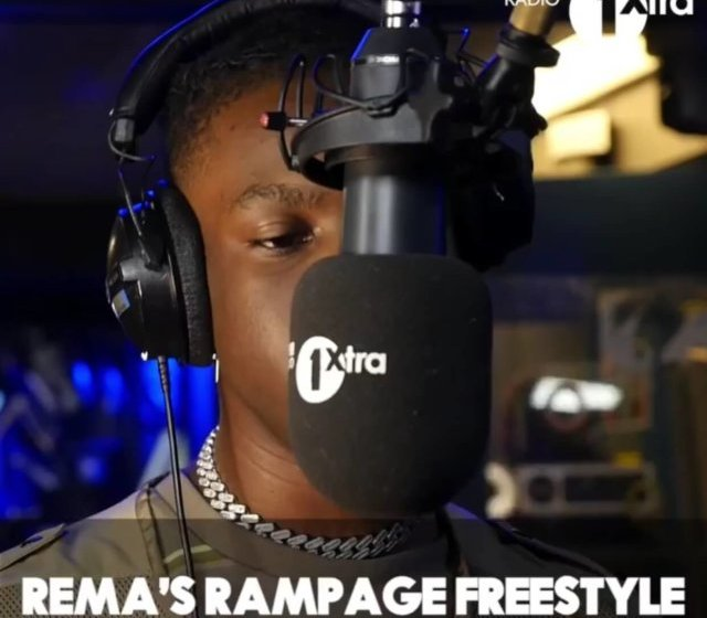 DOWNLOAD : Rema – Rampage [MP3]