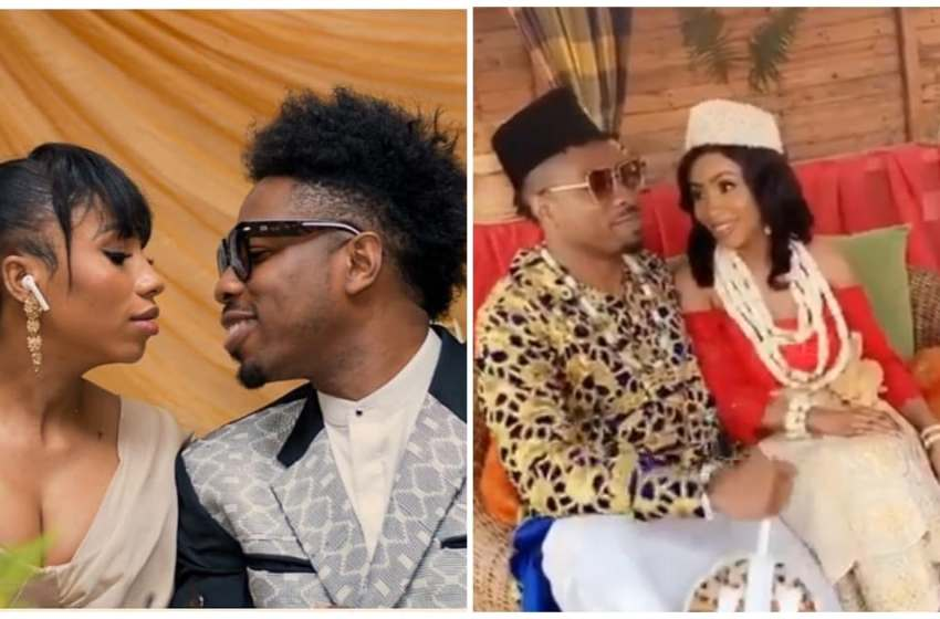 BBNaija's Ike and Mercy Traditional Marriage ceremony [VIDEO]