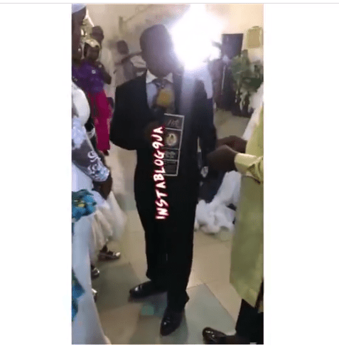Pastor disrupt member's marriage proposal – Because he wasn't aware of the relationship [VIDEO]